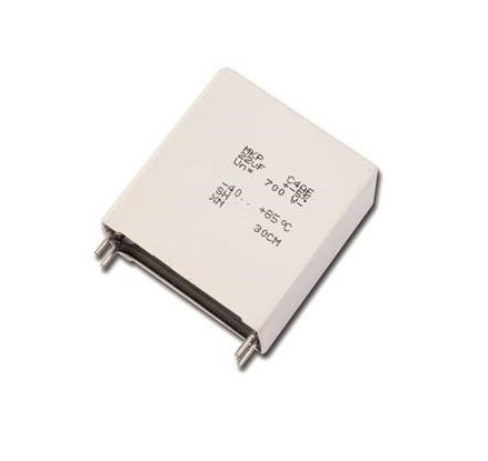 KEMET 8μF Polypropylene Capacitor PP 1.1kV dc ±5% Tolerance C4AQ Series (64)