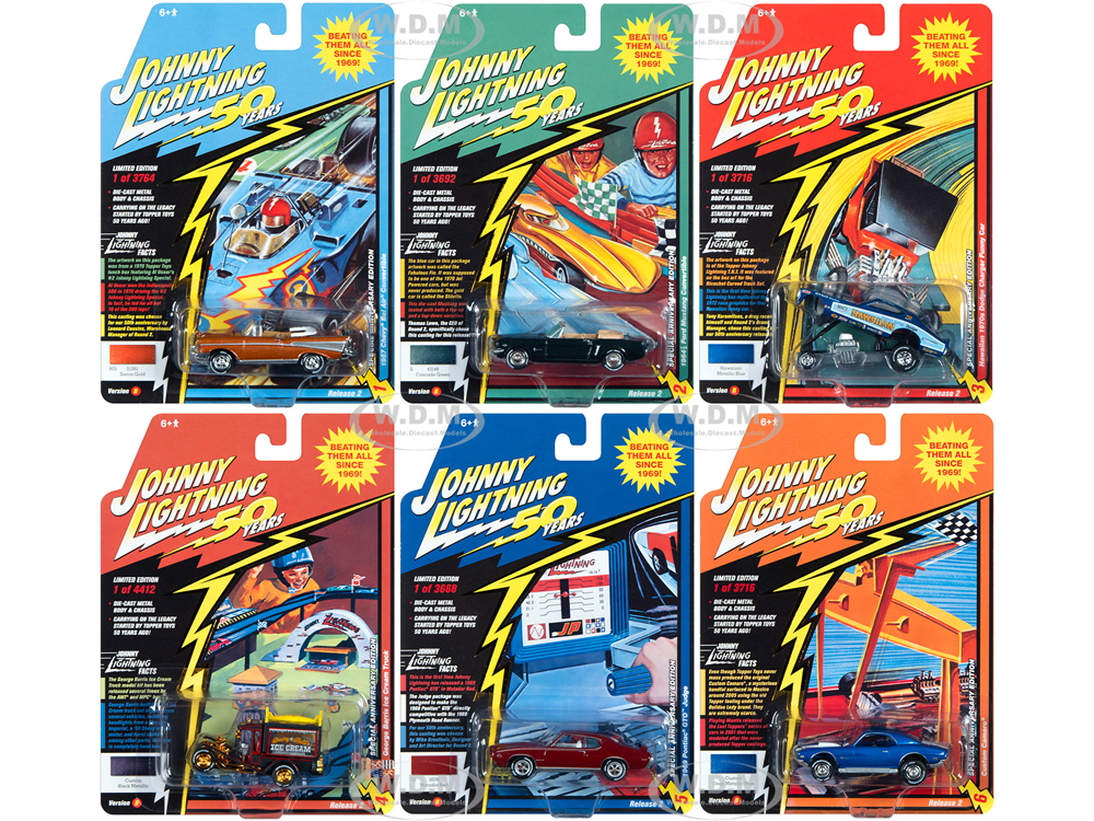 Classic Gold 2019 Release 2 Set B of 6 Cars
