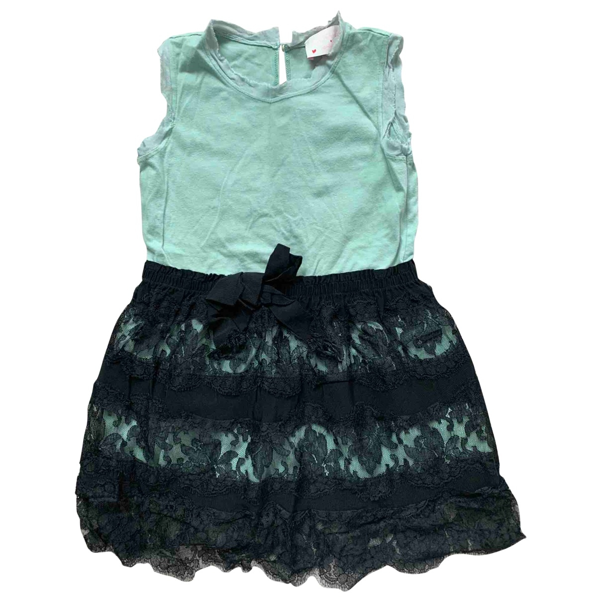 Lanvin \N Turquoise Cotton dress for Kids 6 years - up to 114cm FR