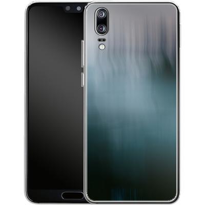Huawei P20 Silikon Handyhuelle - Twilight Sea Abstract von Joy StClaire