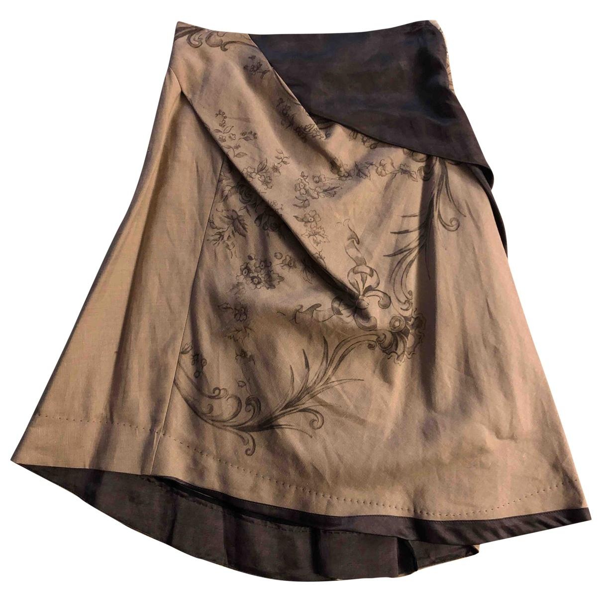 Antonio Marras - Jupe   pour femme en coton - beige