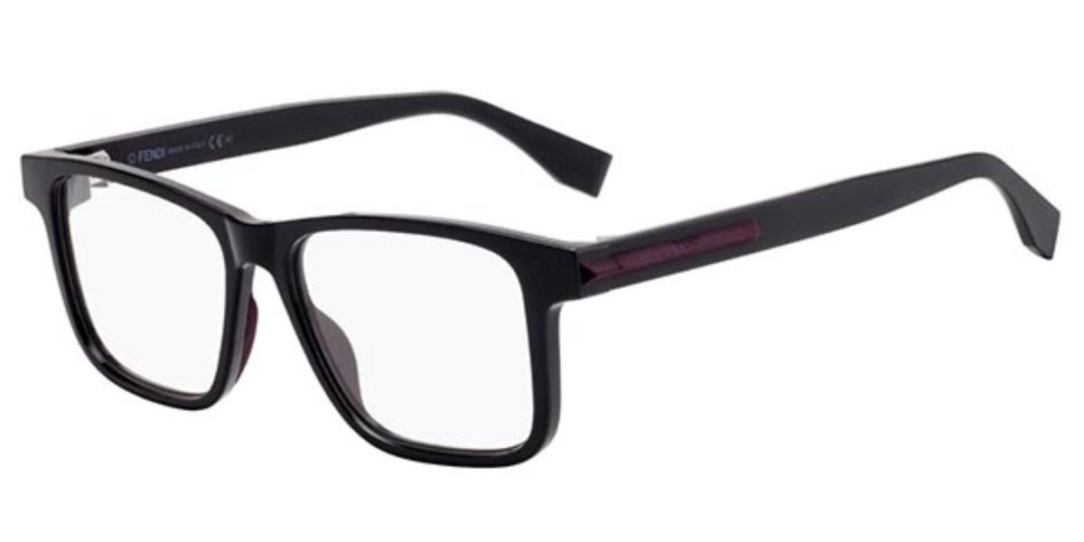 Fendi FF M0038 KB7 Men's Glasses Black Size 53 - Free Lenses - HSA/FSA Insurance - Blue Light Block Available