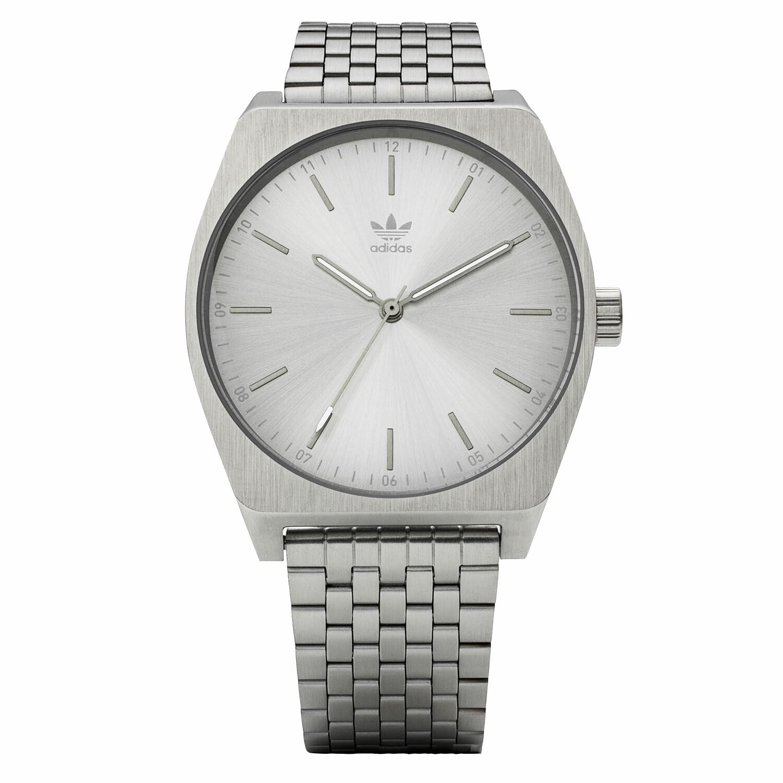 Adidas Mens Process M1 Z02 1920-00 Silver Stainless-Steel Quartz Fashion Watch