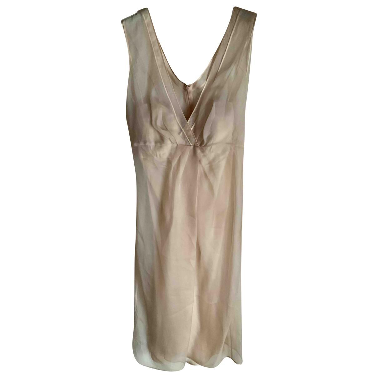 Ermanno Scervino \N Kleid in  Rosa Seide