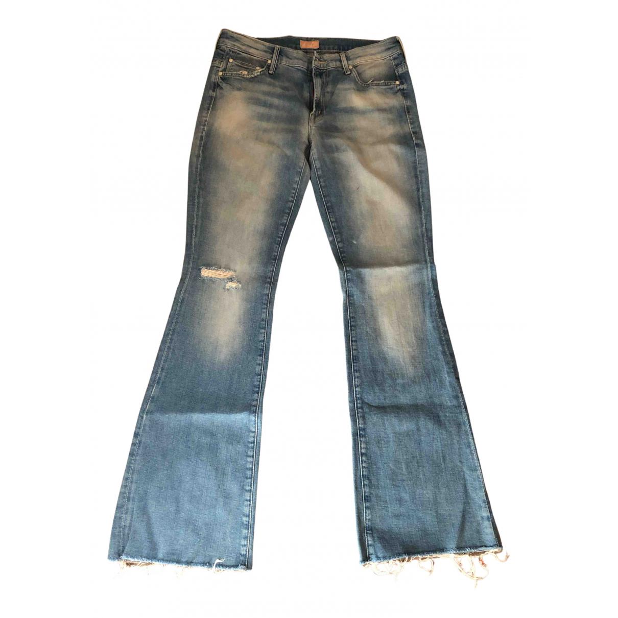 Pantalon en Denim - Vaquero Azul Mother