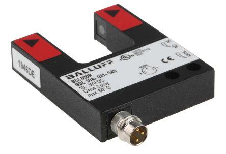 BALLUFF BGL Photoelectric Sensor Through Beam (Fork) 20 mm Detection Range PNP