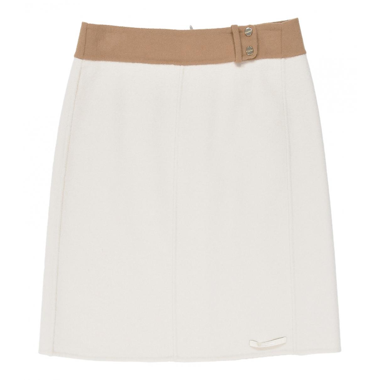Max Mara \N Beige Wool skirt for Women 38 IT