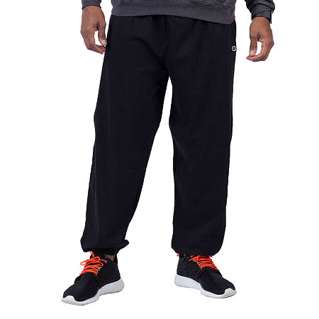 Champion Big and Tall Champion Mens Athletic Fit Pull-On Pants, 2x-large , Black