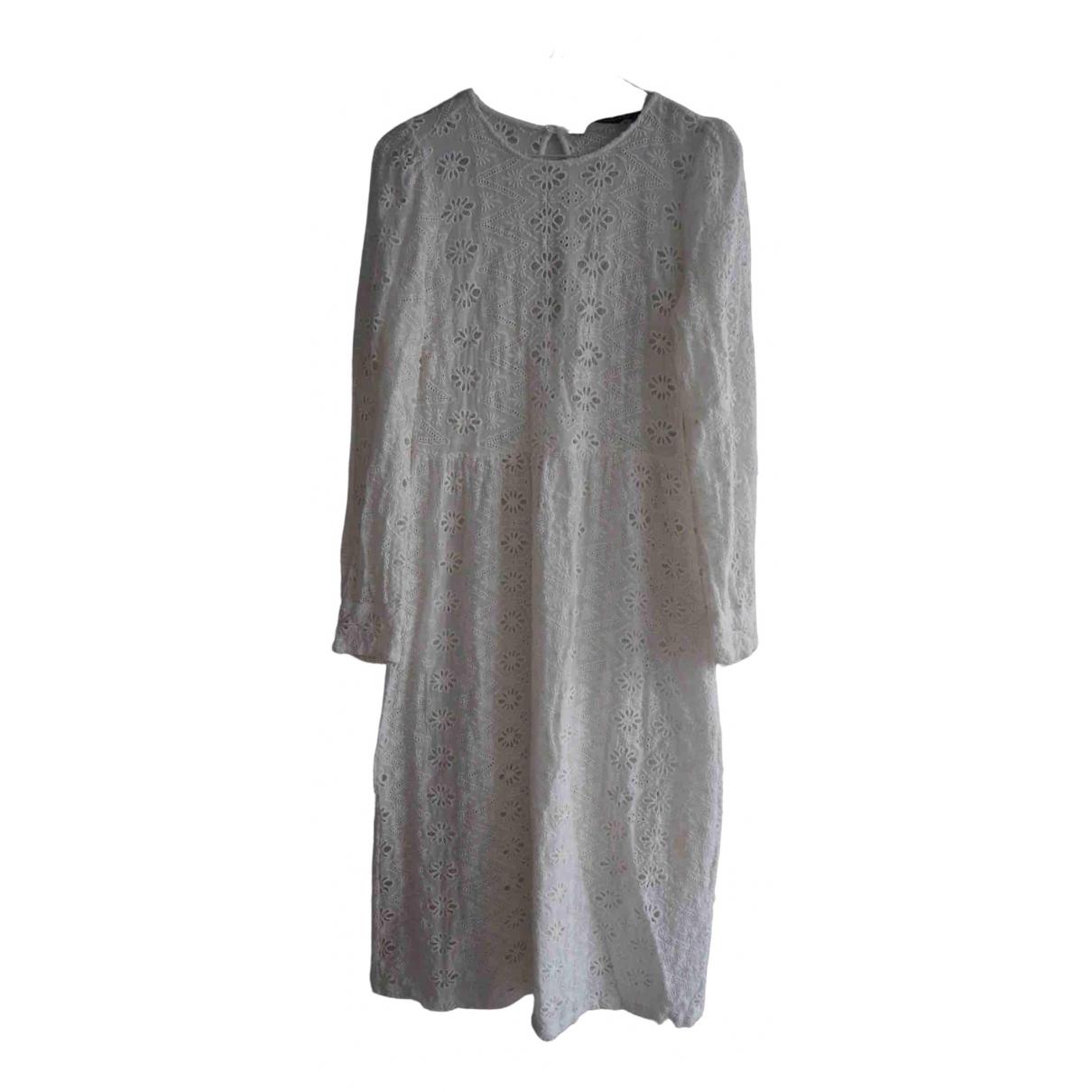 Zara \N White Lace dress for Women 12 UK
