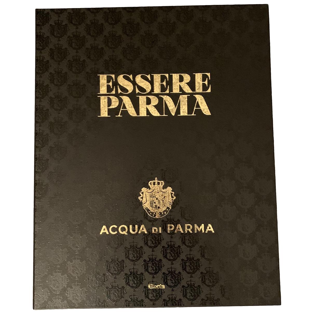 Acqua Di Parma - Mode   pour lifestyle en bois - noir