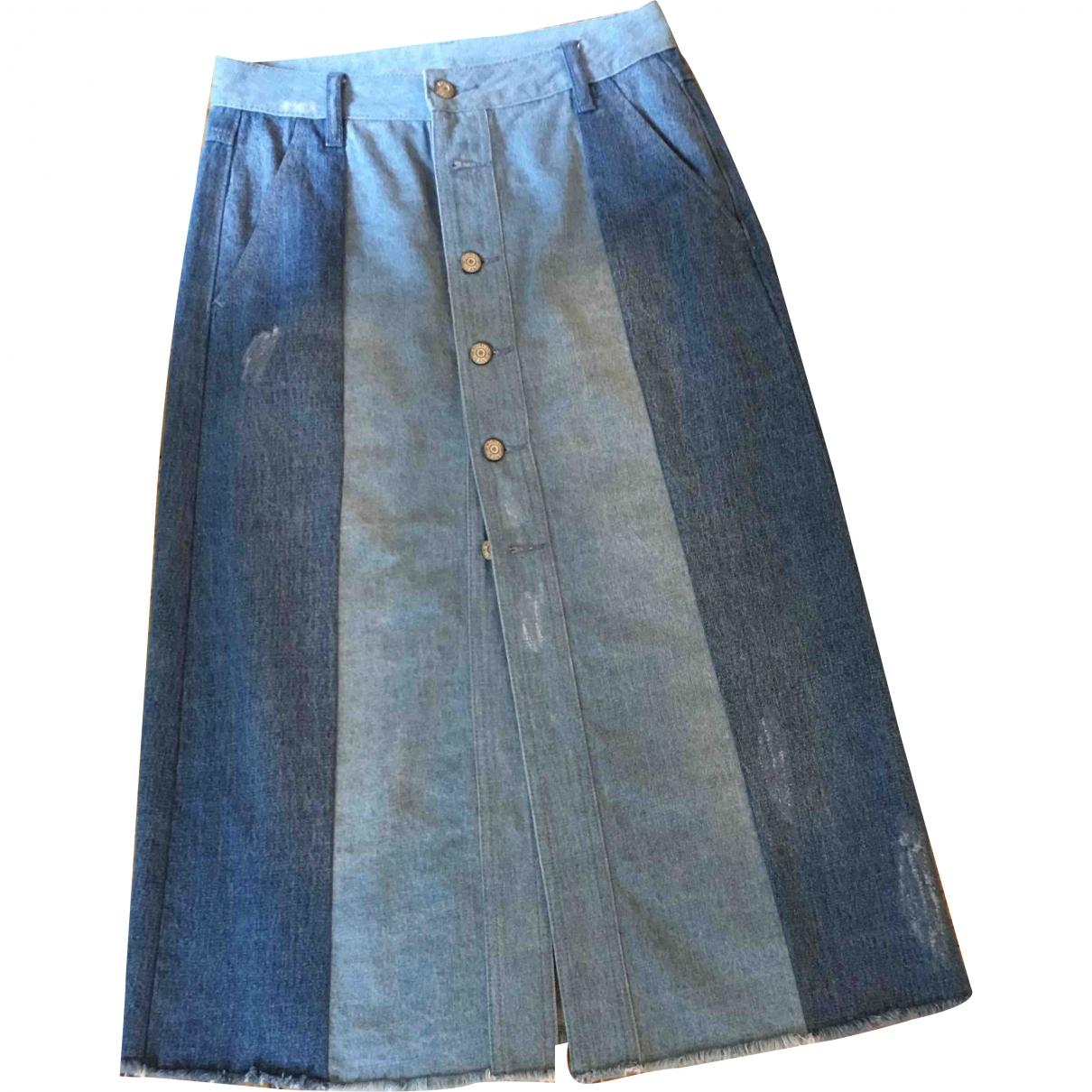 Mo&co \N Rocke in  Blau Denim - Jeans