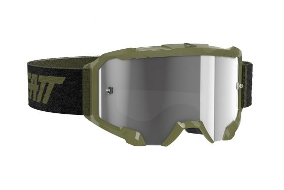 Leatt 8020001120 Velocity 4.5 Goggle Forest Light Grey 58%