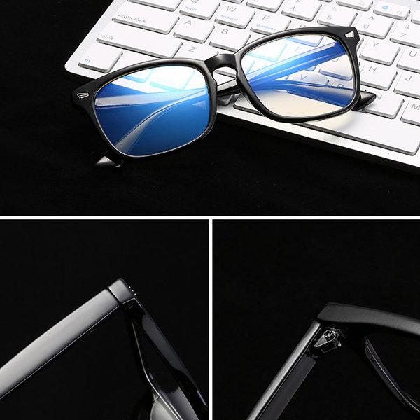 Anti-Fatigue Computer Mirror Eyeglasses Radiation Protection Blue Light Filter Men Woman