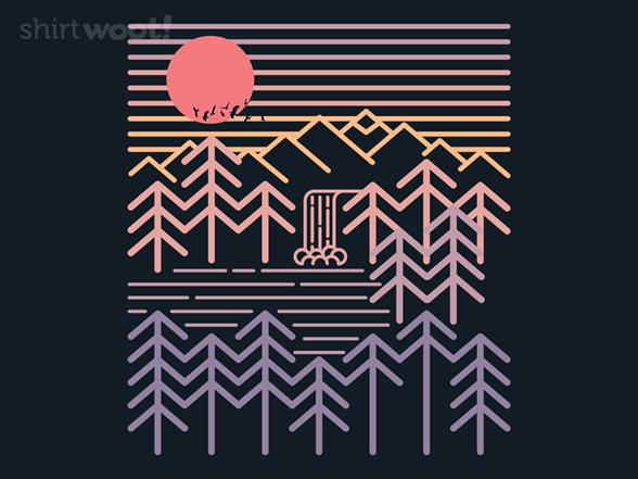 Sunset Valley T Shirt
