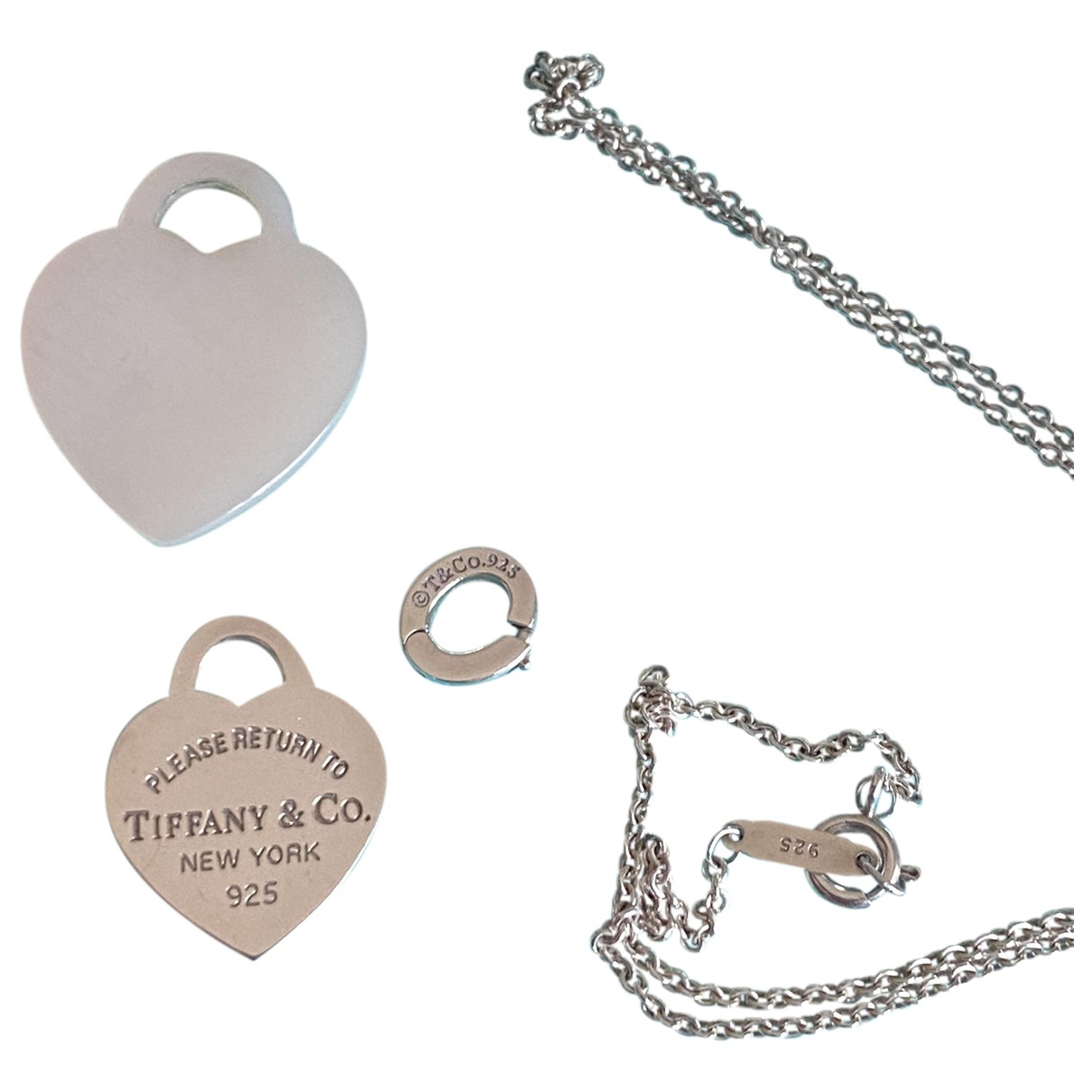Tiffany & Co Return to Tiffany Kette in  Silber Silber