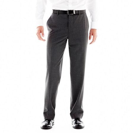 JF J. Ferrar 360 Stretch Slim Fit Suit Pants, 40 34, Black