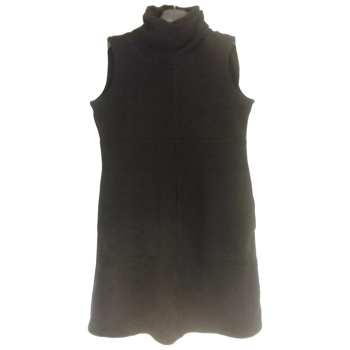 Jc De Castelbajac \N Kleid in  Schwarz Wolle