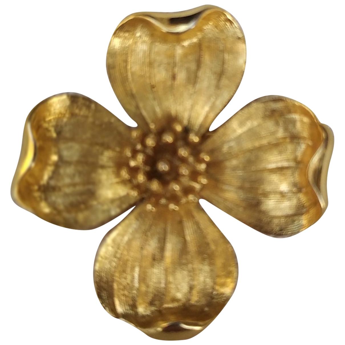 Trifari \N Brosche in  Gold Metall