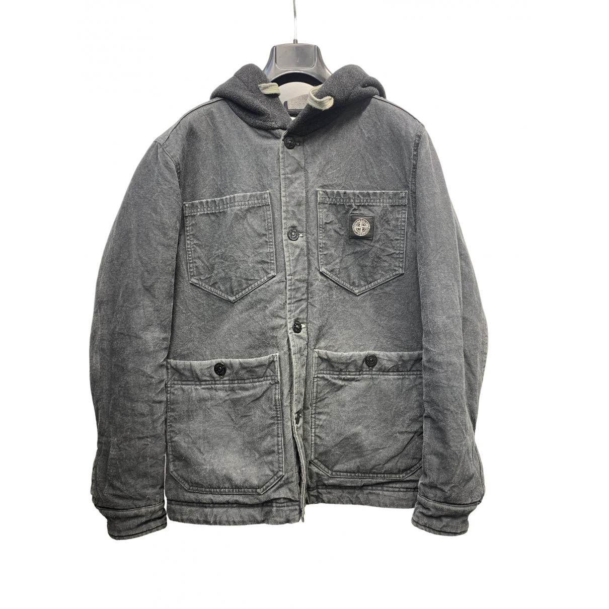 Stone Island \N Grey Cotton jacket  for Men S International