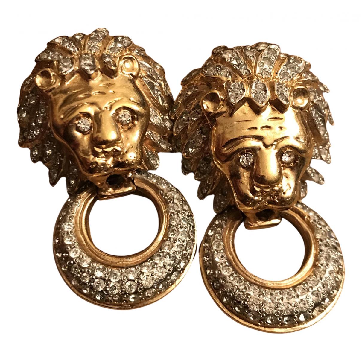 Valentino Garavani \N OhrRing in  Gold Metall