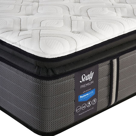 Sealy Pershing Cushion Firm Pillowtop - Mattress Only, One Size , White