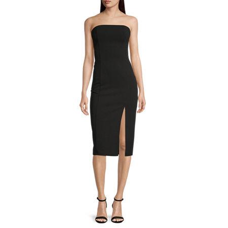 Premier Amour Sleeveless Sheath Dress, 10 , Black