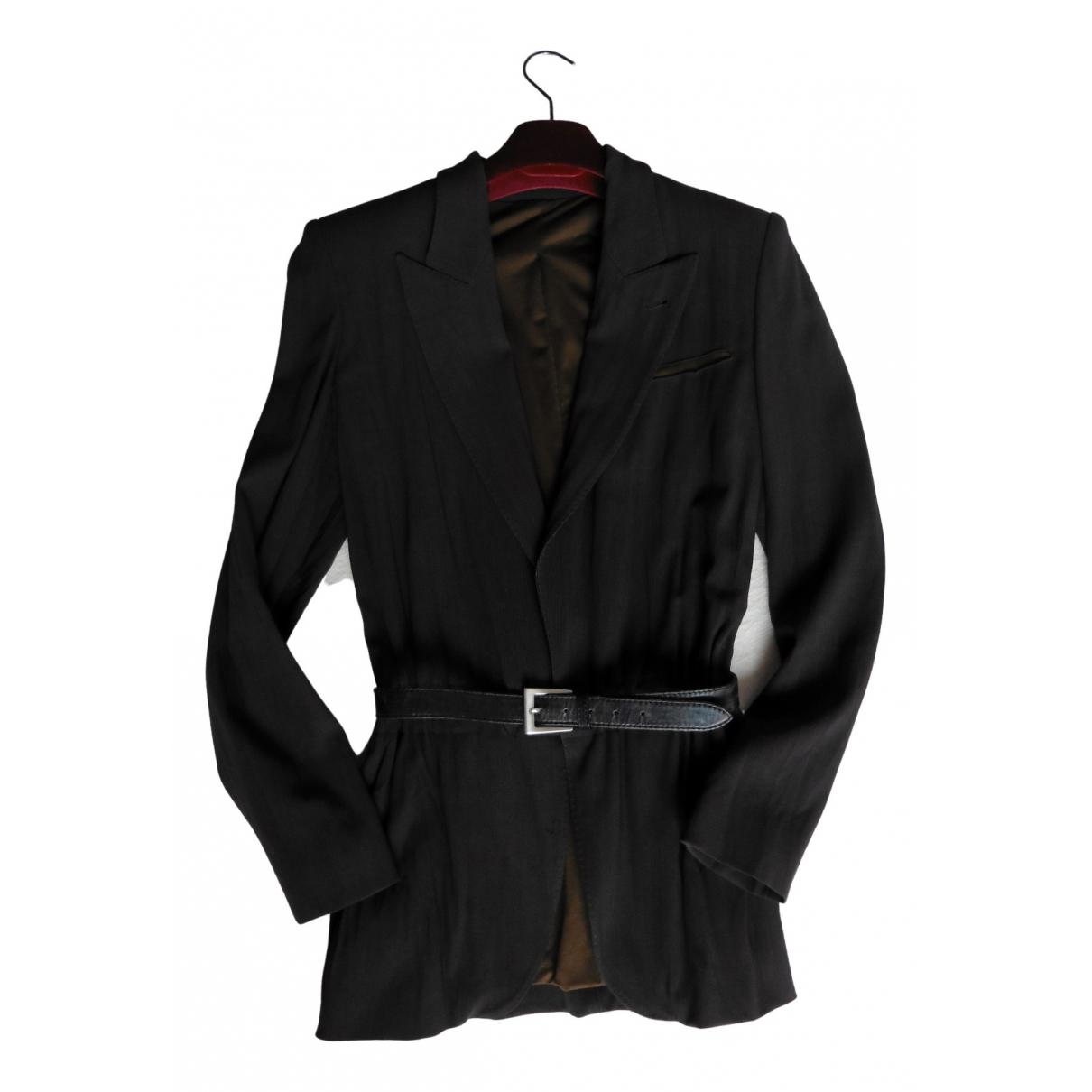Jean Paul Gaultier N Brown Wool jacket for Women 40 IT
