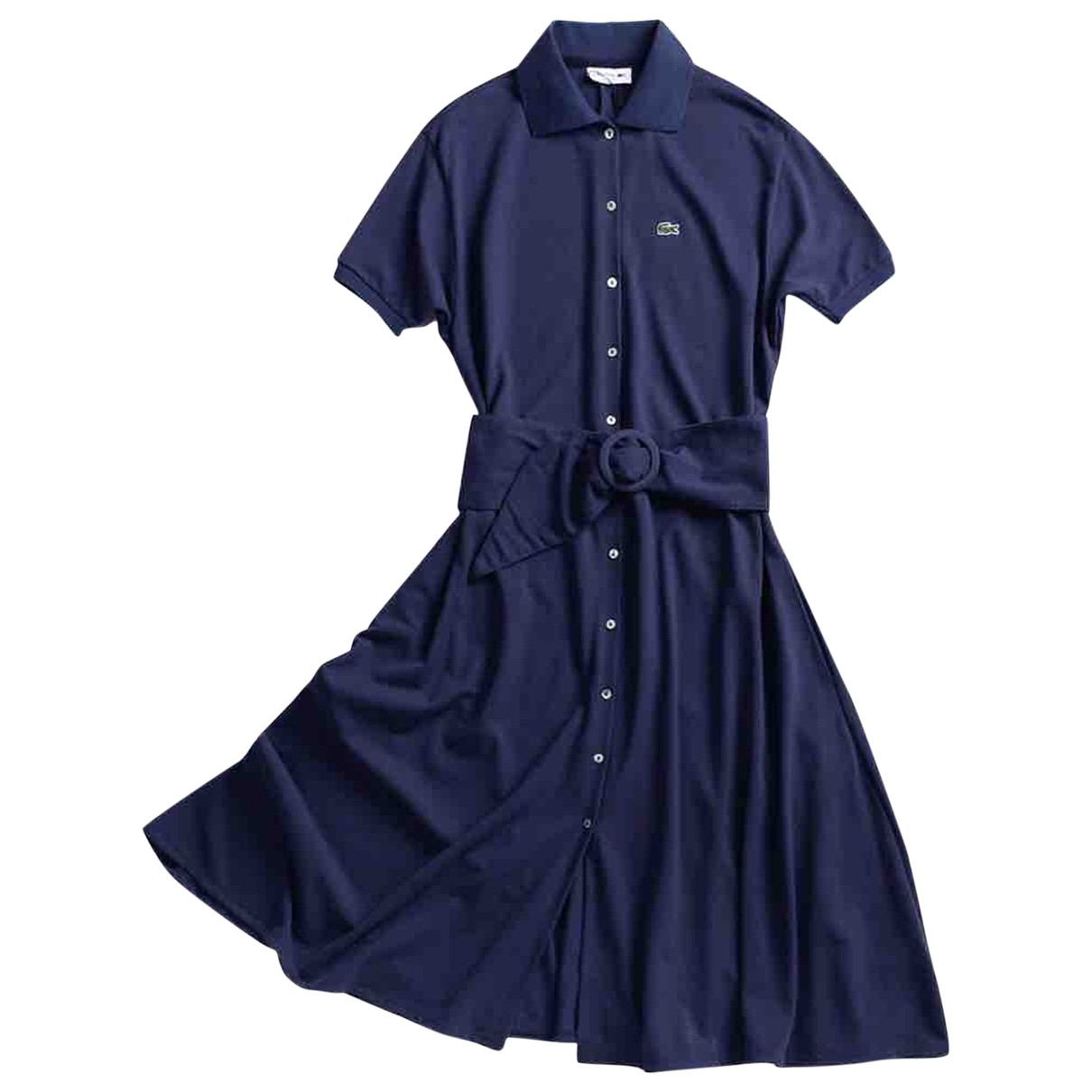 Lacoste \N Blue Cotton dress for Women 36 FR