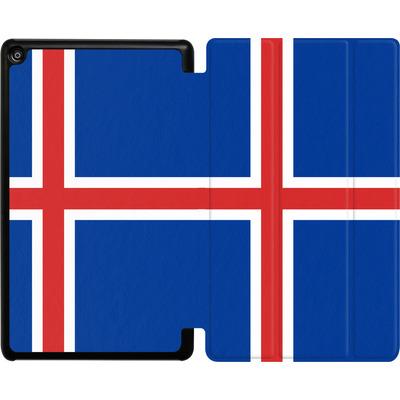 Amazon Fire HD 8 (2018) Tablet Smart Case - Iceland Flag von caseable Designs