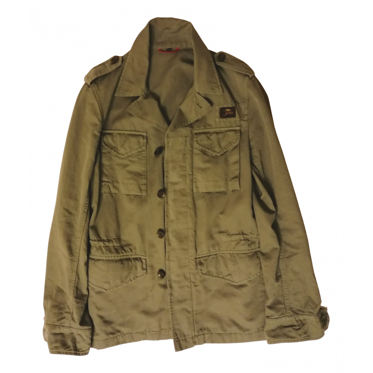 Fay \N Green Cotton jacket  for Men XS International