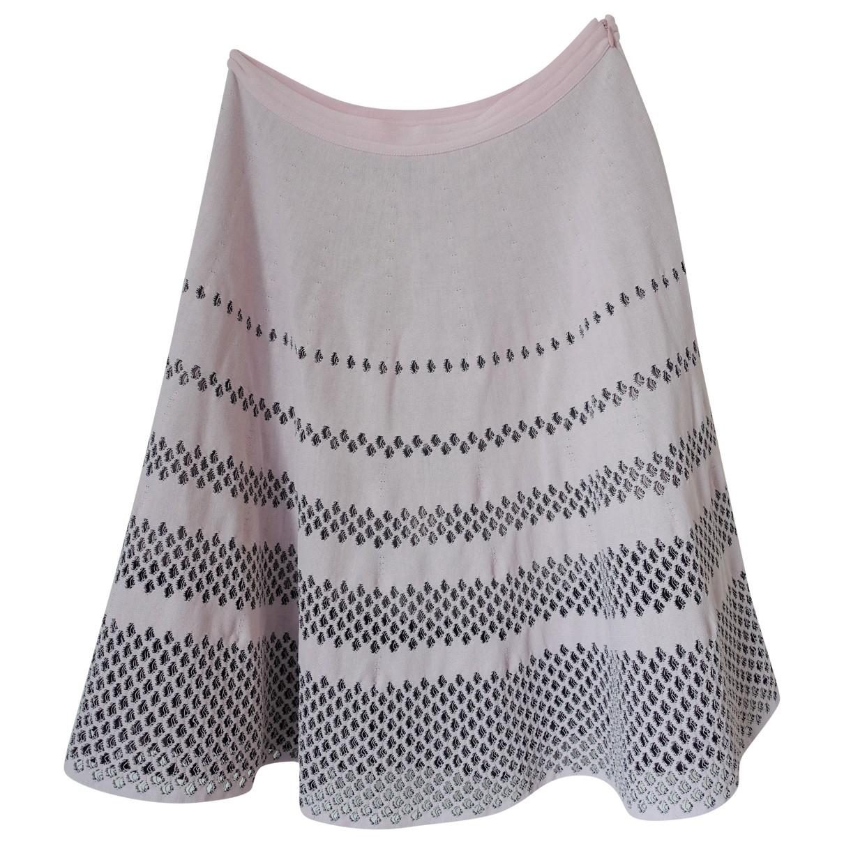 Falda midi Dior