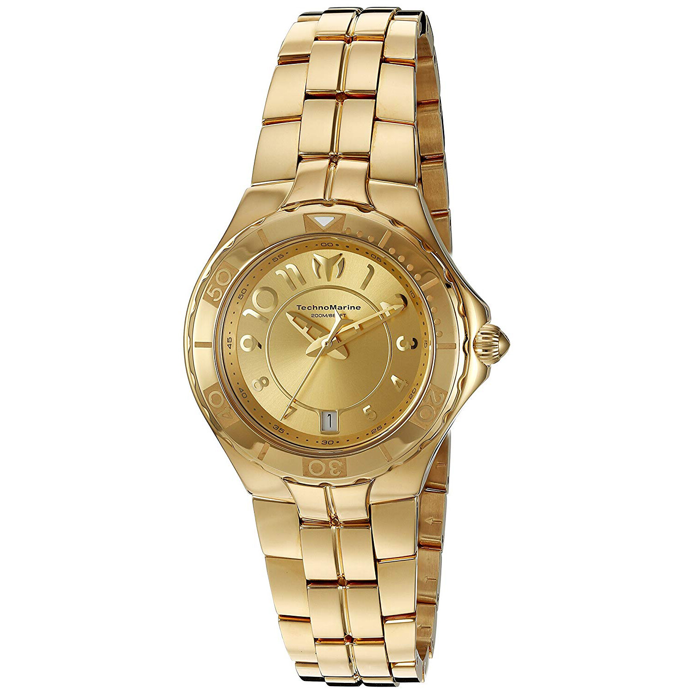 Technomarine Women's Sea Pearl TM-715010 Gold Stainless-Steel Quartz Fashion Watch