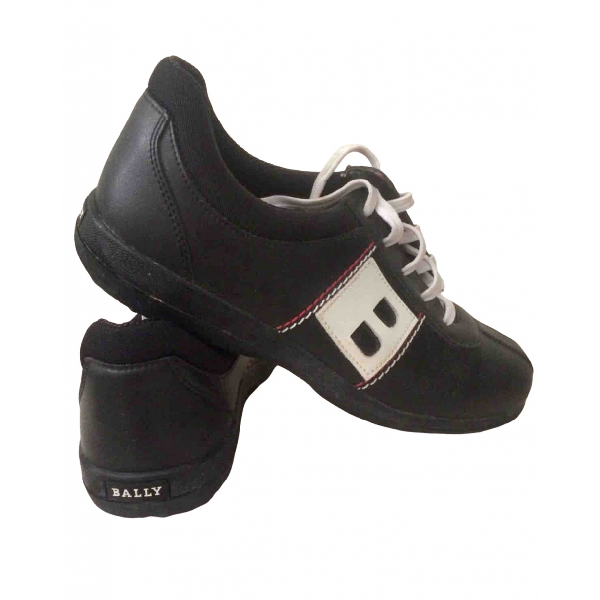 Bally \N Black Leather Trainers for Women 38 EU
