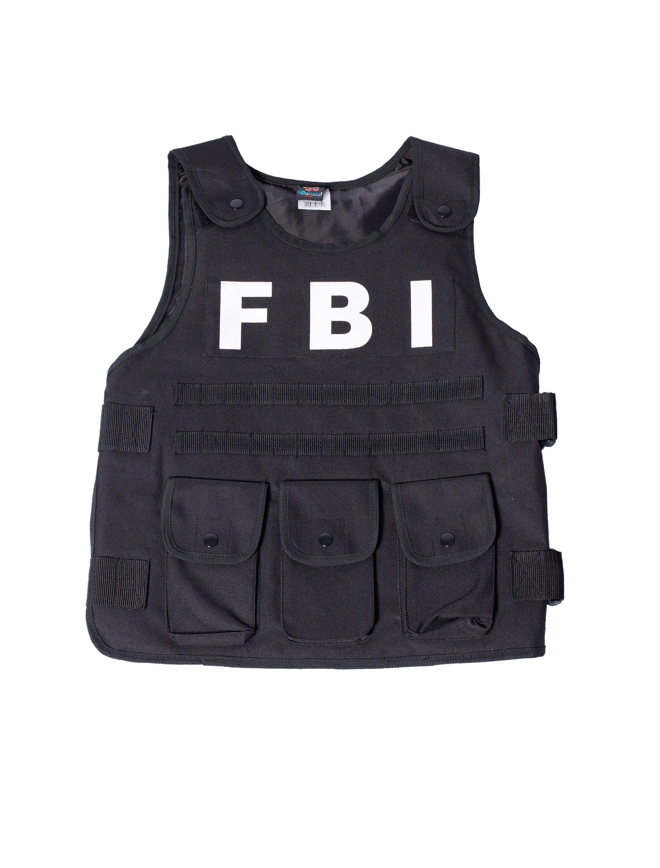 Weste FBI Overhead Kinder Farbe: schwarz