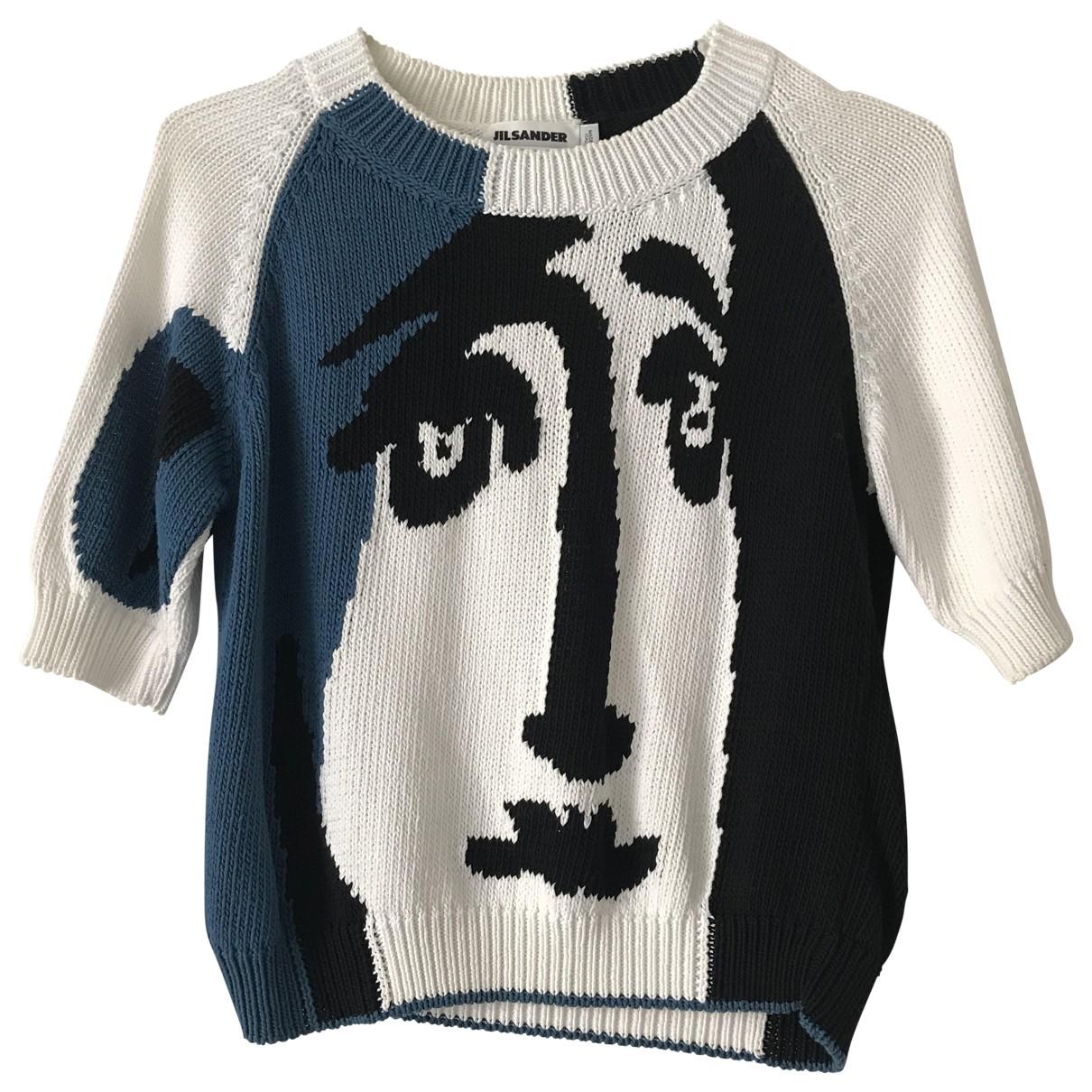 Jil Sander \N White Wool Knitwear for Women 38 FR