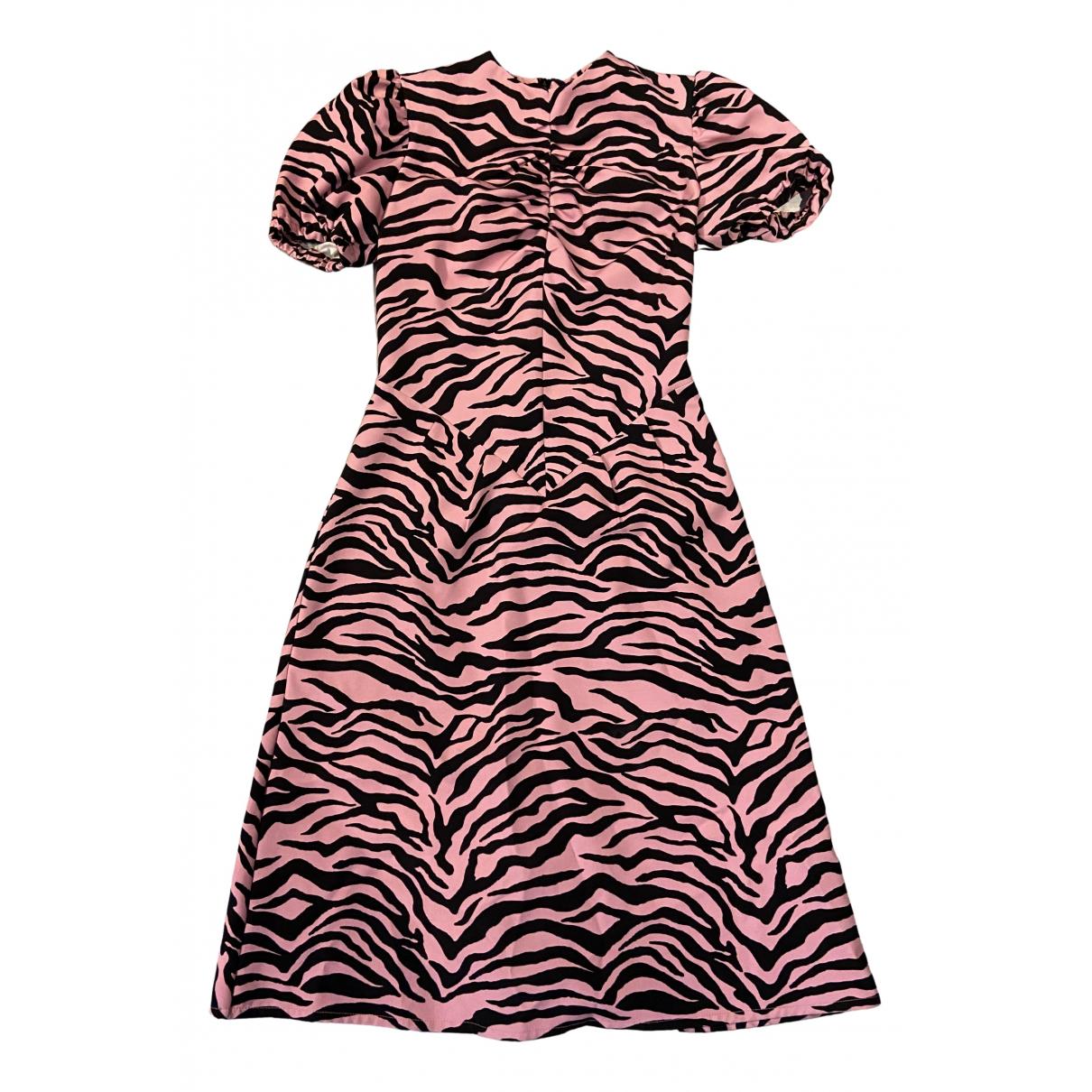 Ashley Williams \N Kleid in  Rosa Synthetik