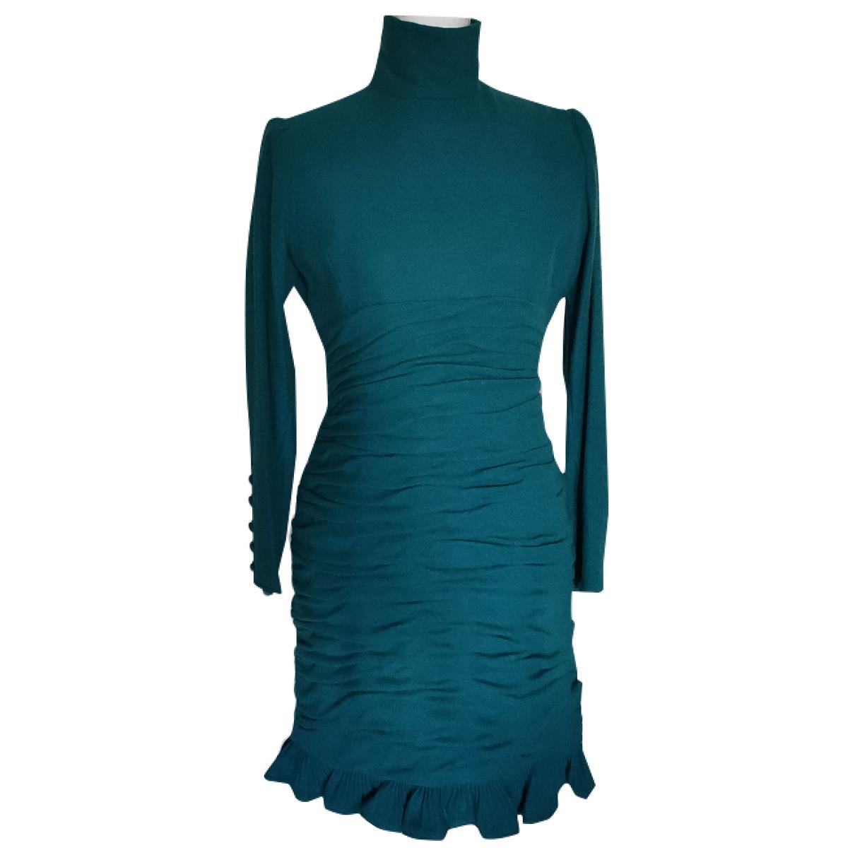 Ungaro Parallele - Robe   pour femme en cachemire - turquoise
