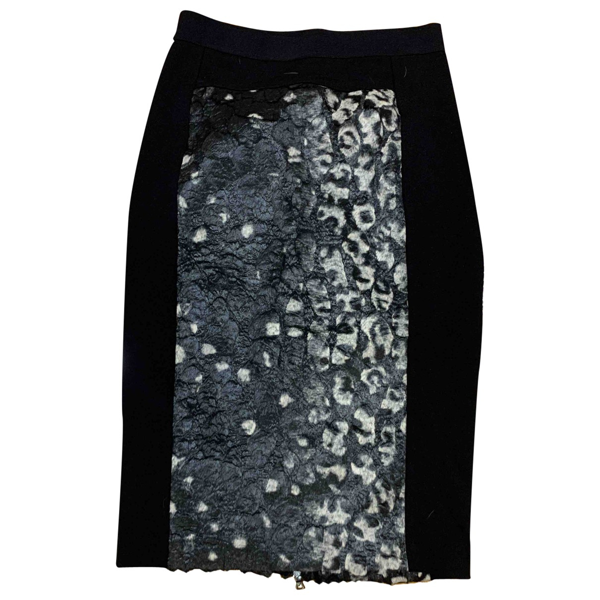 Bcbg Max Azria \N Anthracite skirt for Women 34 FR