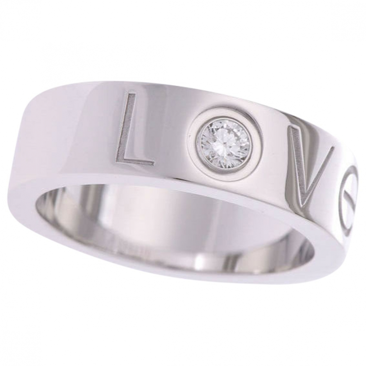 Cartier Love Silver White gold ring for Women \N