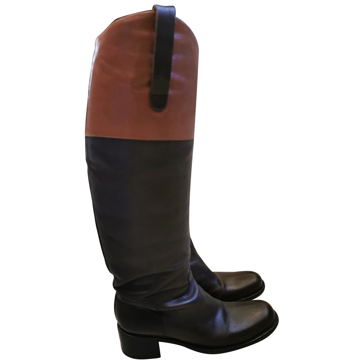Free Lance - Bottes   pour femme en cuir