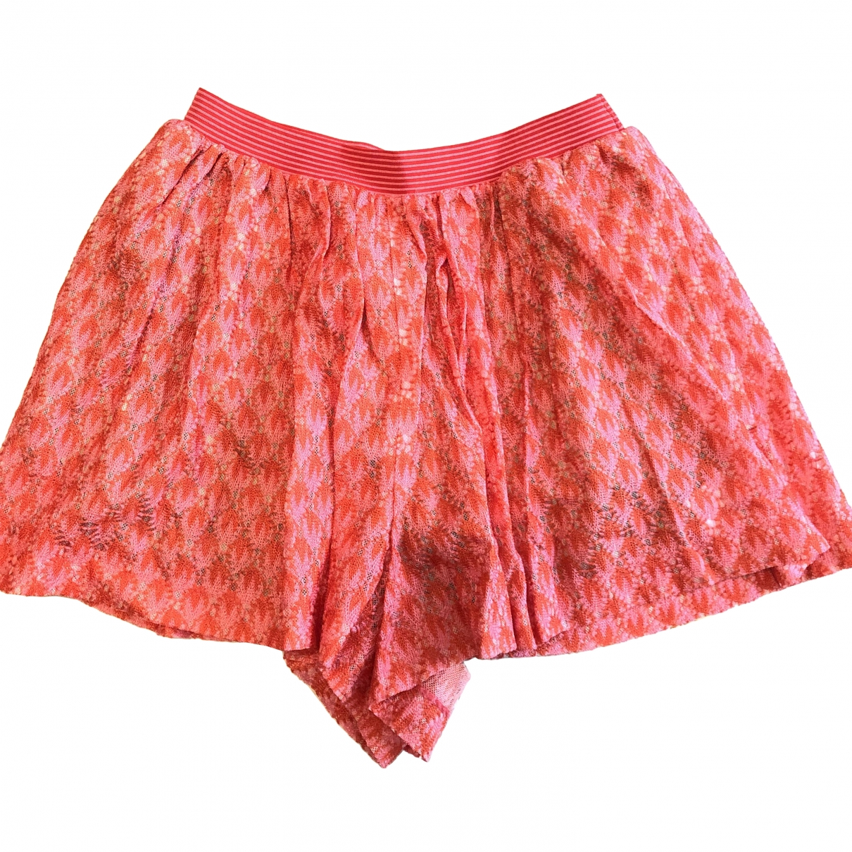 Missoni \N Red Shorts for Women 38 FR