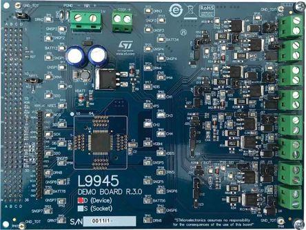 STMicroelectronics EVAL-L9945 Evaluation Board for L9945 for L9945 Engine Management System