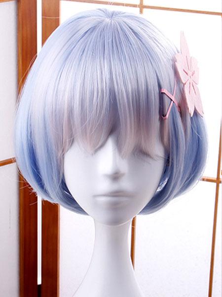 Milanoo Rezero Starting Life In Another World Rem Halloween Cosplay Headwear