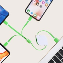 3 In 1 Retractable Data Cable