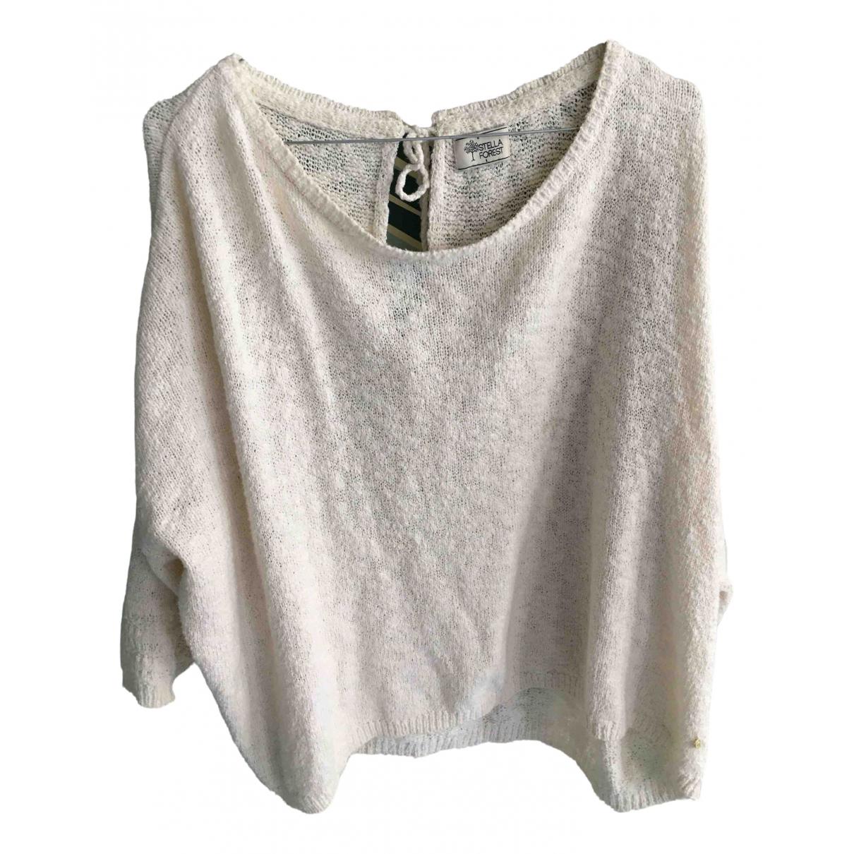 Stella Forest N Ecru Cotton Knitwear for Women 36 FR