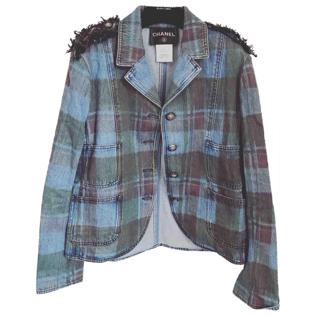 Chanel \N Jacke in  Bunt Denim - Jeans