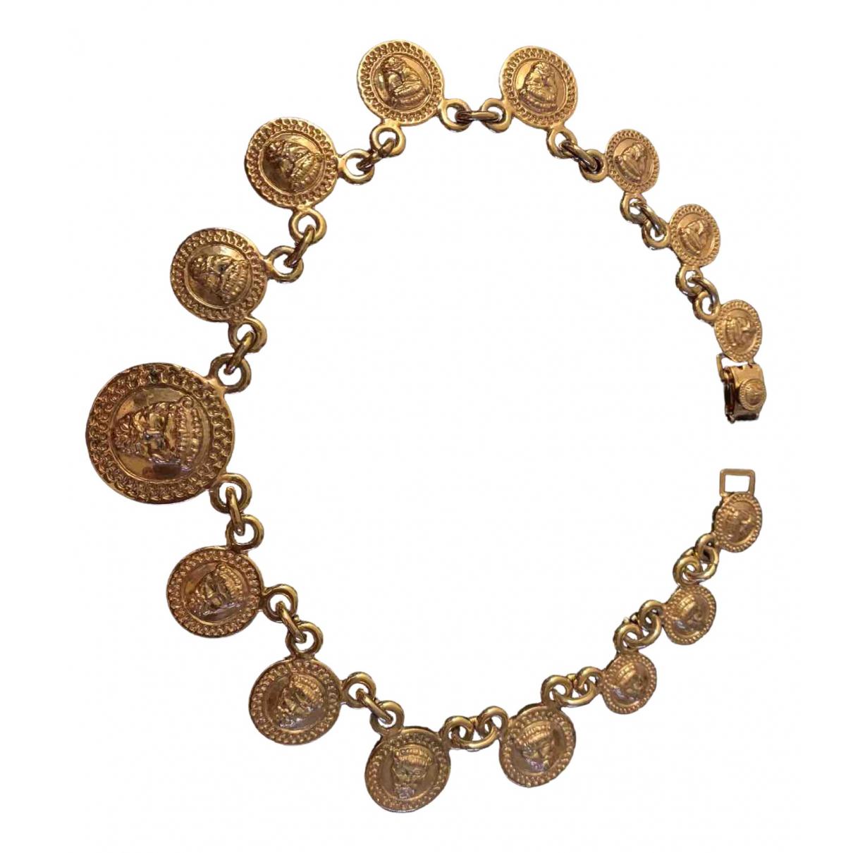 Istante - Collier   pour femme en or et acier - dore