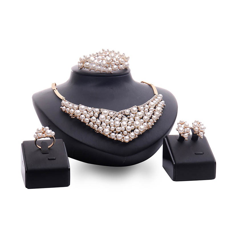 Ericdress Pearl Luxury Jewelry Set