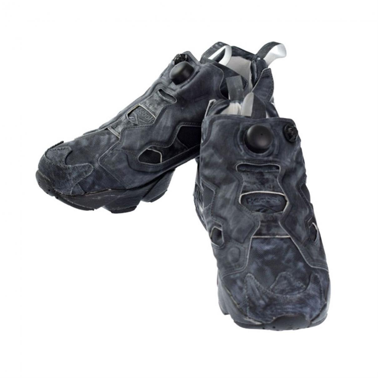 Reebok - Baskets   pour homme en toile - noir