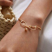 Stethoscope Decor Chain Bracelet 1pc